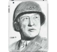 George Patton iPad Case/Skin