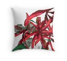 flora redesigned  Throw Pillow
