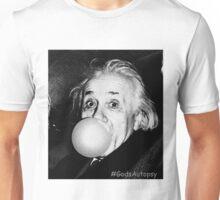 Albert Einstein bubble gum Unisex T-Shirt