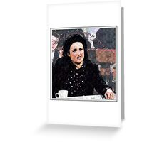Elaine Benes Greeting Card