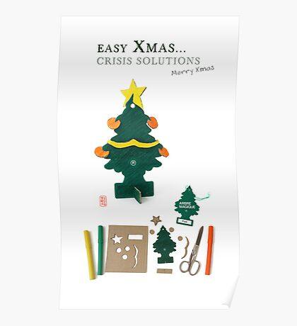 Xmas Crisis Solutions Poster