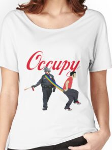 occupy Women's Relaxed Fit T-Shirt