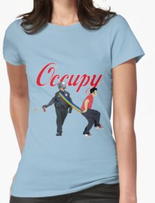occupy Womens Fitted T-Shirt