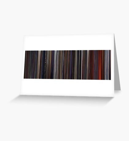 Moviebarcode: Star Wars: Episode III - Revenge of the Sith (2005) Greeting Card