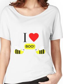 "I Love ""Boo"" Bees! Women's Relaxed Fit T-Shirt"