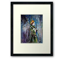 """Rainy day"" Framed Print"