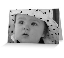 Dotted Hat Greeting Card