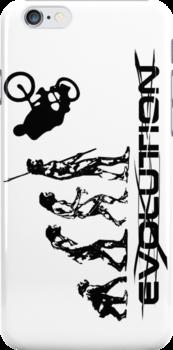 BMX EVOLUTION CASE  by karmadesigner