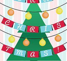 Christmas tree by rhysjenkinsgd