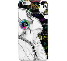 Music is the Color iphone case iPhone Case/Skin