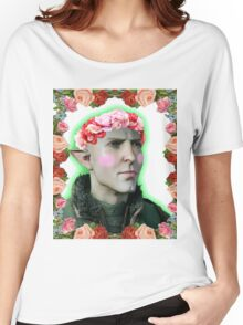 Solas - Flower Crown Women's Relaxed Fit T-Shirt