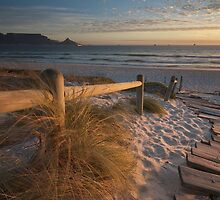 Sunset on Blouberg by Ryan Hasselbach
