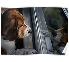 Beagle's Window Poster