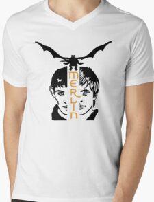 Merlin Mens V-Neck T-Shirt