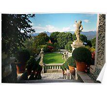 Garden View, Isola Bella Poster