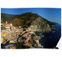 A Village in Cinque Terre Poster