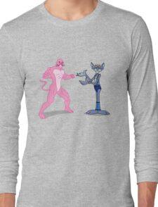 Pink Panthro Long Sleeve T-Shirt