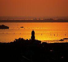 Venice Sunset by Michiko Lawrence