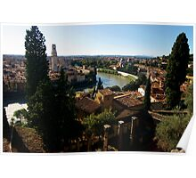 A View from Roman Theater, Verona Poster