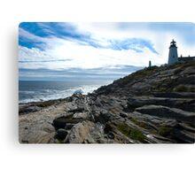 New England Lighthouse Canvas Print