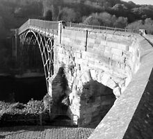Ironbridge Telford Shropshire  by Lawson Clout