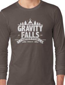Camp Gravity Falls (worn look) Long Sleeve T-Shirt