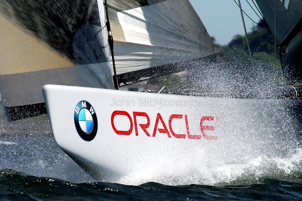 BMW Oracle America's Cup Winning Boat by John McNamara