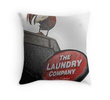 Frozen Chicken Throw Pillow