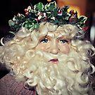 Santa by Glenna Walker