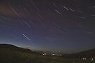 Campsie Star Trails (1) by Karl Williams