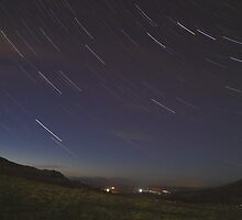 Campsie Star Trails (1) by Karl Williams