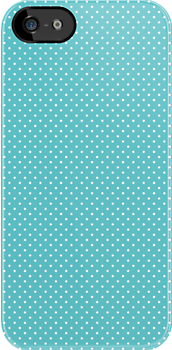 TIFFANY BLUE - POLK.A.DOT by MadNic