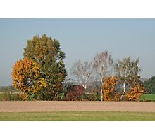 Autumn Landscape Photographic Print