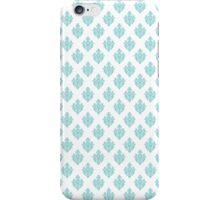 TIFFANY BLUE - WHITE iPhone Case/Skin