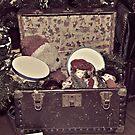 Santa's Toy Chest by Glenna Walker
