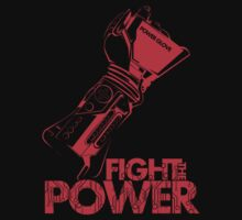 Fight The Power!!! (RED) by InkOne