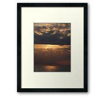 Evening ambiance - Atardecer Framed Print