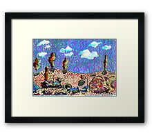 The Hills Framed Print