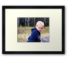 Andrew 2 Framed Print
