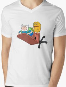Adventure Time - Feels Time Mens V-Neck T-Shirt