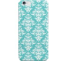 TIFFANY BLUE - DAMASK 3 iPhone Case/Skin