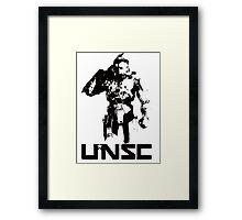 Halo UNSC Framed Print
