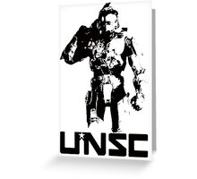 Halo UNSC Greeting Card