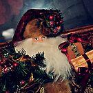 Santa Bearing Gifts by Glenna Walker