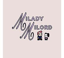 Milady and Milord Photographic Print