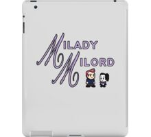 Milady and Milord iPad Case/Skin