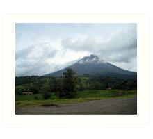Drive-by Volcano Art Print