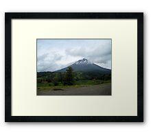 Drive-by Volcano Framed Print