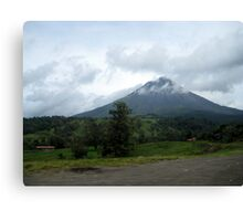 Drive-by Volcano Canvas Print