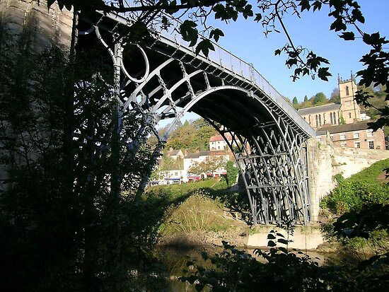 The Worlds first Ironbridge Telford Shropshire. by Lawson Clout